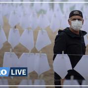 Covid : le Brésil dépasse le seuil des 600.000 morts