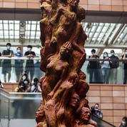 L'université de Hongkong ordonne le retrait de la statue commémorant Tiananmen