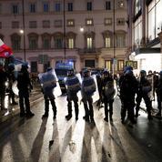 Italie : manifestation à Rome contre le passe sanitaire