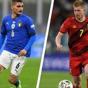 Ligue des nations: Italie-Belgique, «petite finale» pour grands déçus