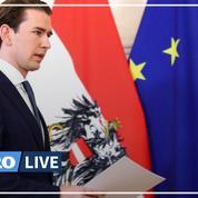 Soupçonné de corruption, le chancelier autrichien Sebastian Kurz annonce sa démission