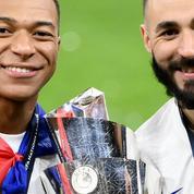 Ligue des nations : Jean-Marie Le Pen félicite les Bleus et «en particulier Karim Benzema et Kylian Mbappé »