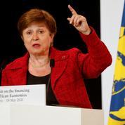 Toujours pas de décision sur le maintien ou non de Georgieva à la tête du FMI
