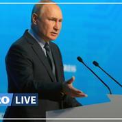 Crise du gaz : Vladimir Poutine juge «très important» de stabiliser le marché