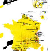 Tour de France 2022: découvrez la carte et le parcours de la prochaine édition