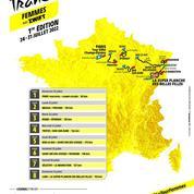 Tour de France : de la Tour Eiffel à La Super Planche des Belles Filles, le parcours de l'édition féminine