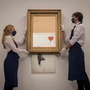 La fille au Ballon ,le Banksy en lambeaux de retour sous le marteau