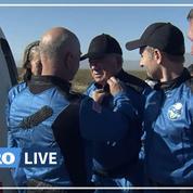 La capsule de Blue Origin a atterri après son voyage de quelques minutes dans l'espace