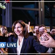 Anne Hidalgo fête son investiture dans une brasserie à Paris