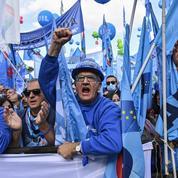 Manifestation géante à Rome contre l'extrême droite