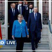 À Istanbul, Angela Merkel remercie Erdogan sans omettre ses critiques