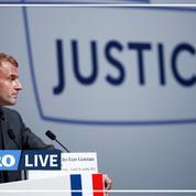 Macron condamne les attaques contre le droit européen, «vieille maladie française»