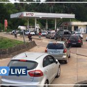 Guyane : les stations-service fermées temporairement après le blocage de dépôts de carburants