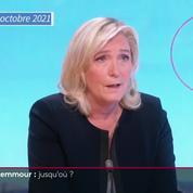 Présidentielle 2022 : Marine Le Pen juge le programme d'Éric Zemmour «marqué par un ultralibéralisme»