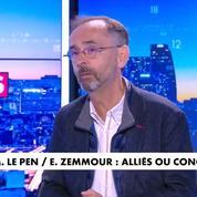 Robert Ménard estime «qu'il y a plus d'appétit chez Éric Zemmour que chez Marine Le Pen»