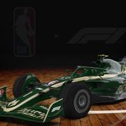 Formule 1 : les monoplaces décorées aux couleurs des franchises NBA avant le GP des États-Unis