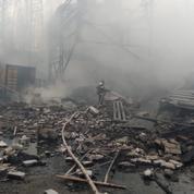 Russie : au moins 16 morts dans l'incendie d'une usine d'explosifs