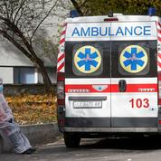 Covid-19 : record de décès et contaminations en Ukraine pour le 2e jour consécutif