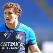 Rugby : Michele Lamaro, nouveau capitaine du XV d'Italie