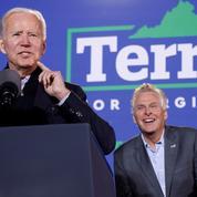 Biden soutient un candidat démocrate en Virginie, dans une élection locale à gros enjeux