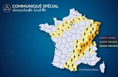 Orages : plusieurs départements en alerte orange