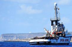 Migrants: situation tendue pour l'Open Arms au large de Lampedusa