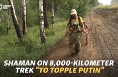 Un chamane sibérien en route pour «exorciser» Poutine a été arrêté