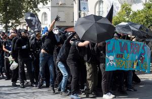 «Gilets jaunes» : débordements en marge de la manifestation à Nantes
