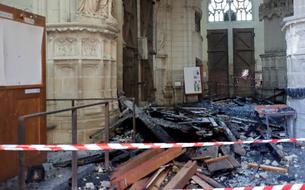 Incendie de la cathédrale de Nantes : le bénévole soupçonné a reconnu les faits