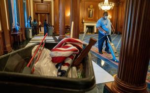 Le Capitole fait l'inventaire des dégâts après l'invasion des partisans de Trump
