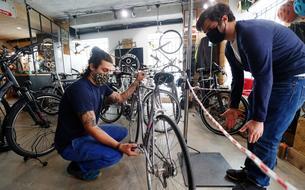 Loi climat : une prime à la conversion pour acheter un vélo électrique