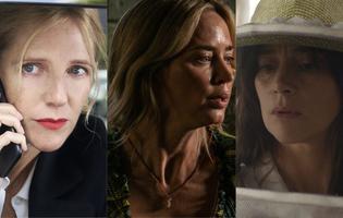 <p>Sandrine Kiberlain dans<i> Les 2 Alfred</i>, Emily Blunt dans<i> Sans un bruit 2</i> et Suliane Brahim dans <i>La Nuée</i>.</p>