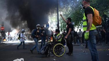 «Gilets jaunes» : 27.900 manifestants en France, dont 9000 à Paris