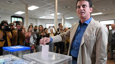Camouflet pour Manuel Valls aux municipales à Barcelone