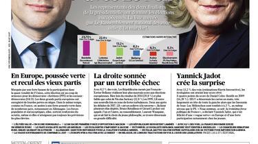 À la une du Figaro ce lundi : Macron installe le duel avec Le Pen