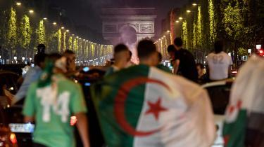 Victoire de l'Algérie : scènes de liesse en France, 198 interpellations