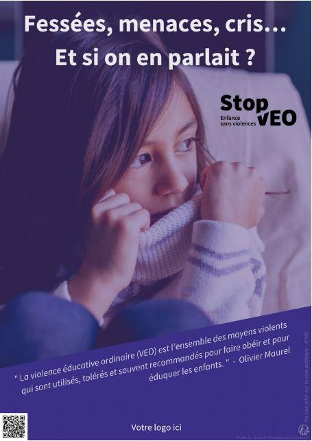 Affiche de la campagne de sensibilisation.