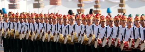 EN IMAGES - Thaïlande: les répétitions du couronnement du roi