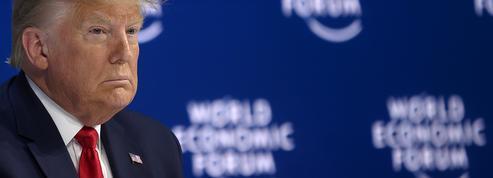 À Davos, Trump l'optimiste fustige les «prophètes de l'apocalypse»