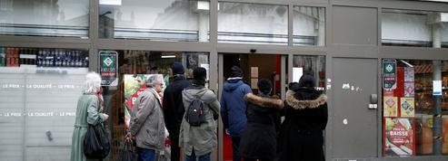 Face au confinement, les habitants de l'Est parisien se sont davantage ravitaillés