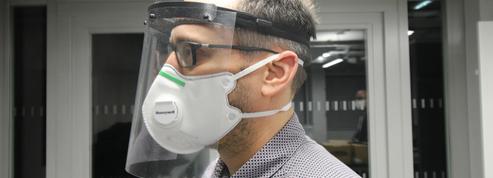 Coronavirus: le CHU de Nantes reçoit des visières de protection pour ses soignants