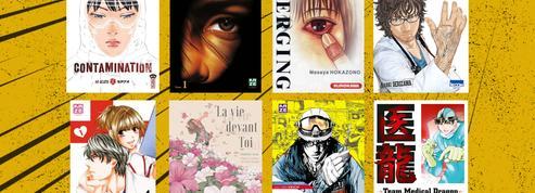 Personnel soignant: les huit mangas qui en parlent le mieux