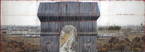 L'empaquetage de l'Arc de triomphe par Christo attendra l'automne 2021