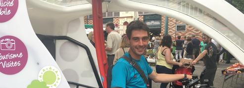Nicolas, livreur en triporteur : «Même s'ils ne le disent pas, les clients sont inquiets»