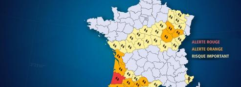 Pluies et inondations : les Landes en alerte rouge