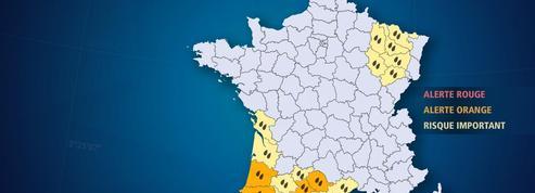 Pluies-inondations : levée de l'alerte rouge sur les Landes