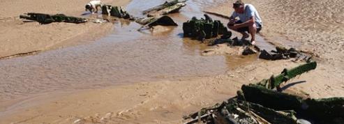 La carcasse d'un avion de la RAF, tombé en 1944, retrouvée en Angleterre