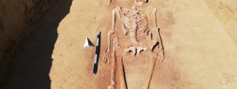 Une tombe romaine de 1500 ans exhumée en Bavière