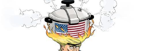 Le dessin d'Ixène: «L'Amérique au bord de l'explosion»