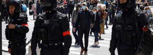 Une manifestation de la CGT Spectacle dispersée par la police